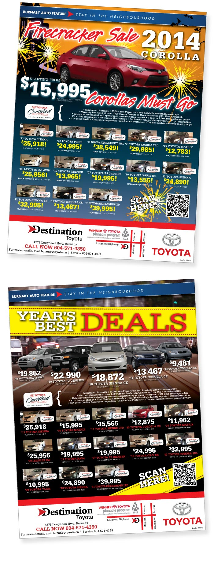DestinationAuto-Timeline